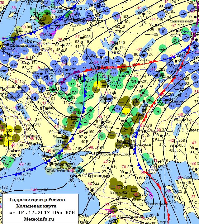 крис прогноз погоды в россии на карте росла
