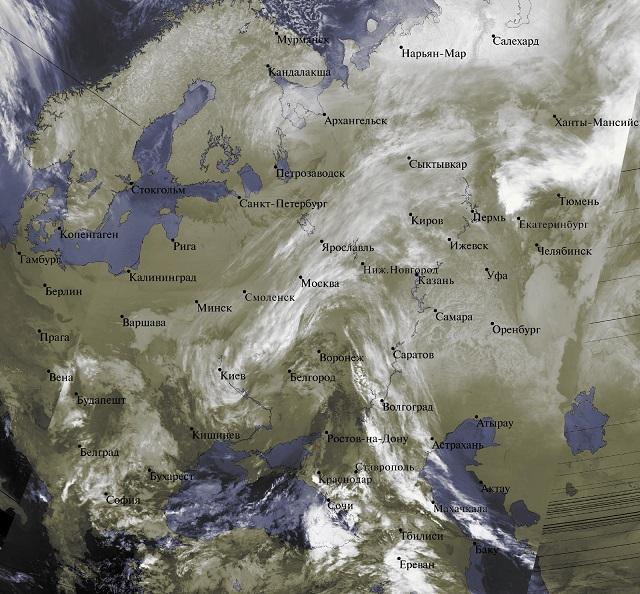 Весна по-прежнему не торопится в московский регион